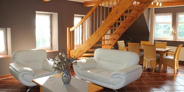Maisonette-Appartement Fichtelberg 2-6 Pers.