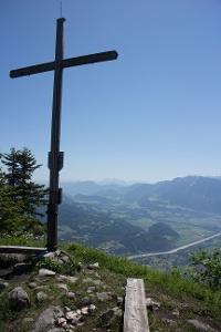 Gipfelkreuz am Wildbarren