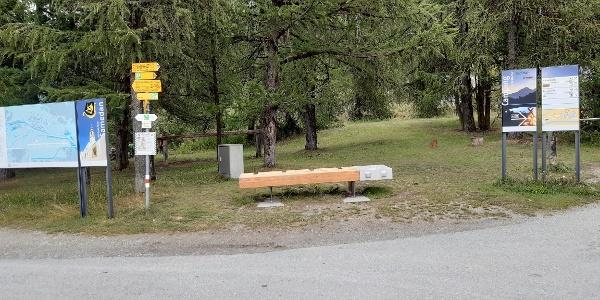 Energy bench Gravatscha