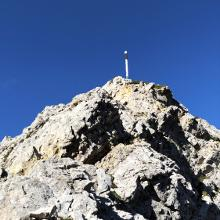Letzter Aufstieg zur Lachenspitze