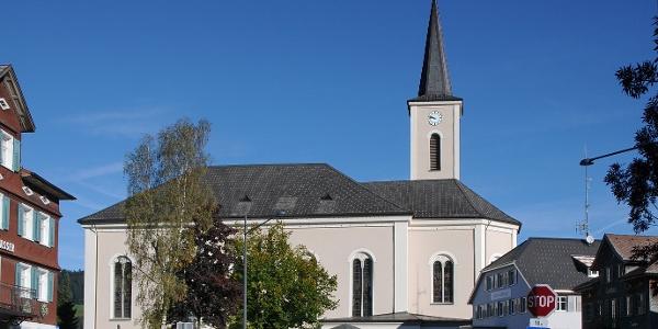 Alberschwende, Katholische Pfarrkirche Heiliger Martin 1