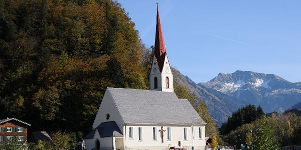 Au, Katholische Pfarrkirche Heiliger Leonhard