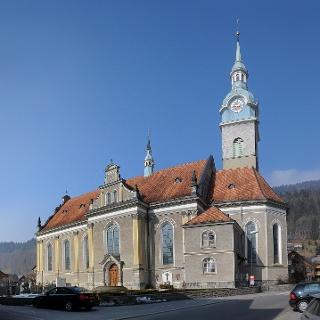 Bezau, Katholische Pfarrkirche Heiliger Jodok