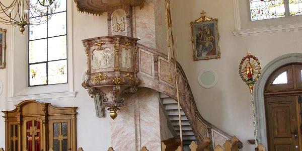 Bezau, Katholische Pfarrkirche Heiliger Jodok 4