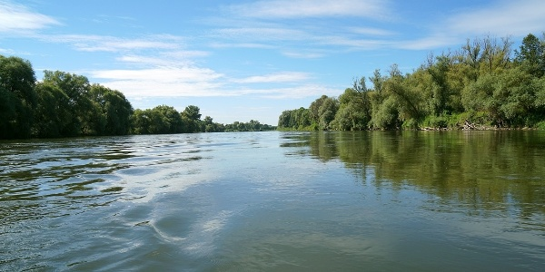 Bootdwandertour auf der Donau zwischen Eining und Weltenburg