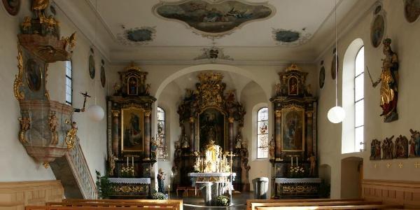 Bizau, Katholische Pfarrkirche Heiliger Valentin 1
