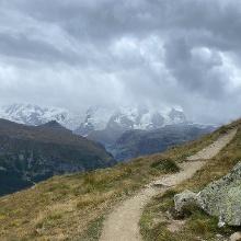 Further along to trail past Hölbalmen