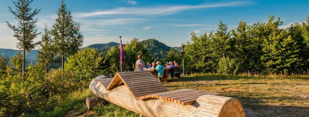 HImmelsliegen am Berghexenlandeplatz Wolfach