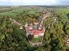 Schloss Bartenstein - Luftaufnahme   - © Quelle: Schloss Bartenstein