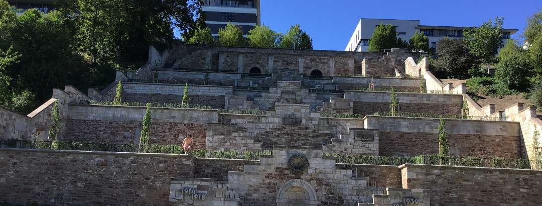 Schleifenroute - Denkmal beider Weltkriege in Kassel