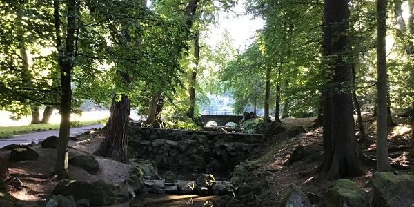 Schleifenroute - Kassel Herkulespark die alten Kaskaden