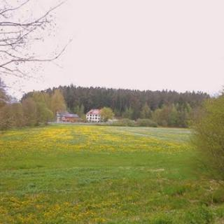 Blick zur Pension Katharinenthal