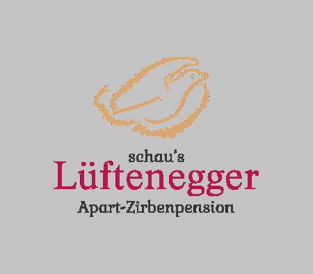 Logo schau s´ Lüftenegger Apart- Zirbenpension & Ferienhaus
