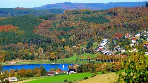 Rundweg auf der Sauerland-Waldroute in Sundern-Amecke