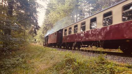 Auf einem Ohr immer die Harzer Brockenbahn