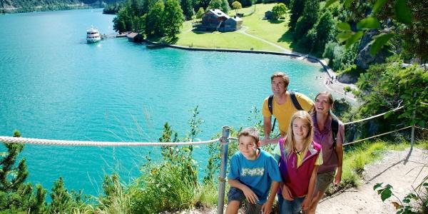 Achensee, Wanderung von der Gaisalm Richtung Achenkirch