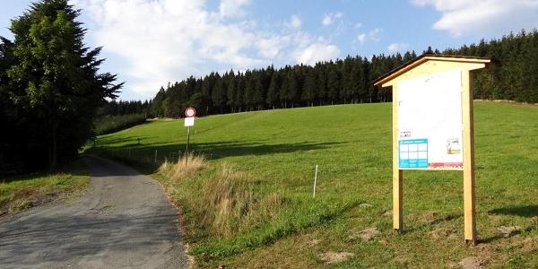 Loipenstart in Nesselbach