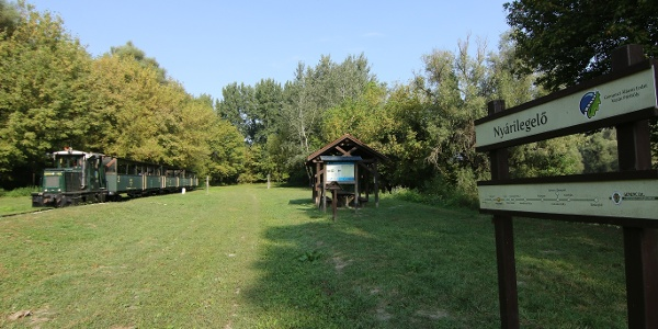 Gemenci Erdei Vasút (Nyárilegelő állomás)
