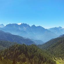 Blick nach Slowenien