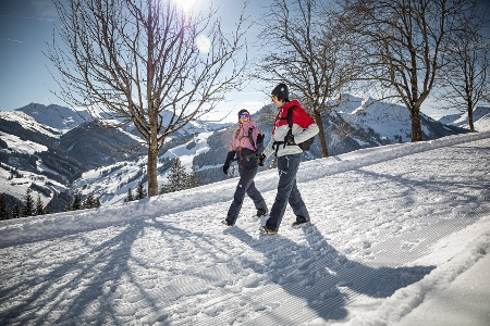 Winterwandern in Saalbach