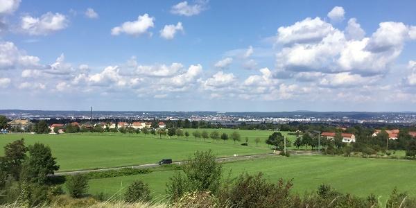 Aussicht über Dresden