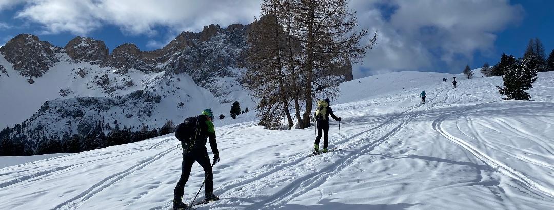Skitour Piza Medalges