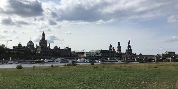 Blick auf die Altstadtkulisse