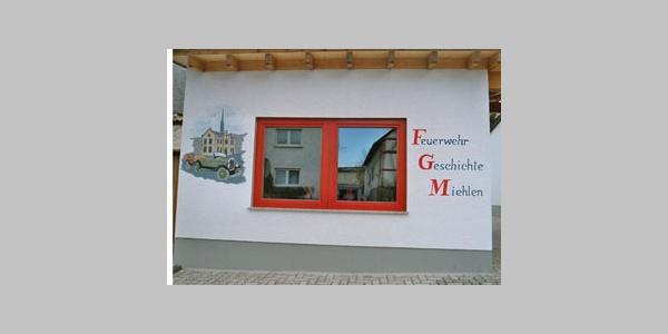 Kleines Feuerwehrmuseum in der Krämergasse 22 in Miehlen