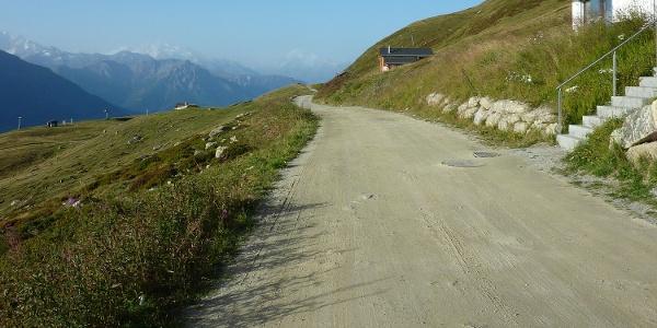 """Wanderung von der Fiescheralp zur Riederalp via """"Herrenweg"""" und """"Aletschpromenade"""""""