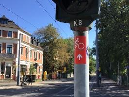 Foto Markierung Route 4