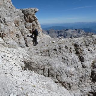 Sentiero delle Palete zum Passo di Val Gelada