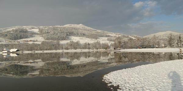 Winterlicher Stubenbergsee