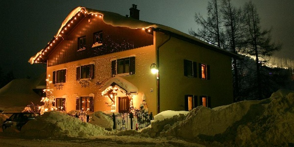 Haus Kohl im Winter