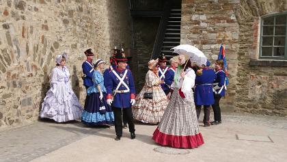 Auf der Festung Ehrenbreitstein