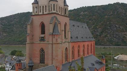 Letzter Blick auf die Liebfrauenkirche, Oberwesel