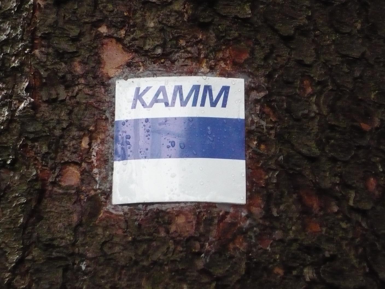 Kammweg-Markierung