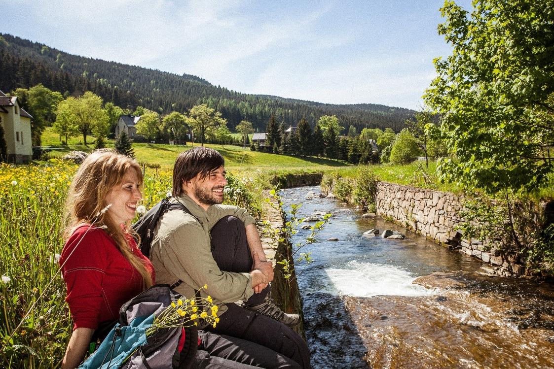 Rittersgrün am Pöhlwasser