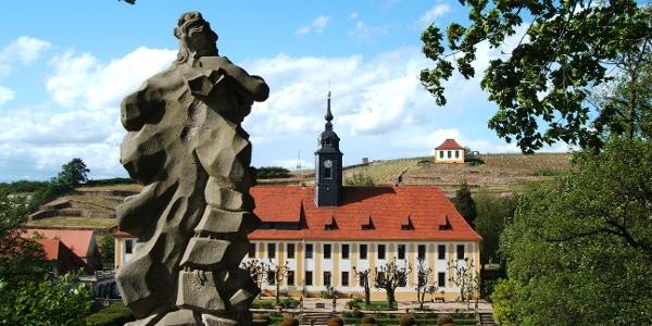 Schloss Seußlitz mit Schlosspark