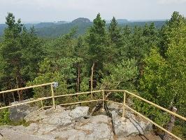 Foto Aussicht vom Spitzstein