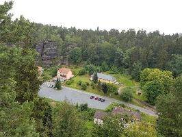 Foto Blick ins Bielatal