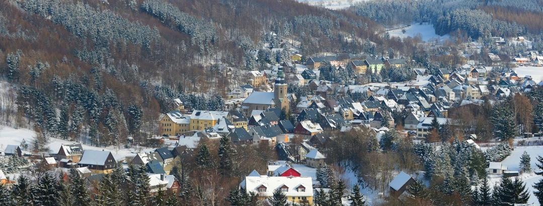 Urlaubsregion Altenberg im Winter - Geising