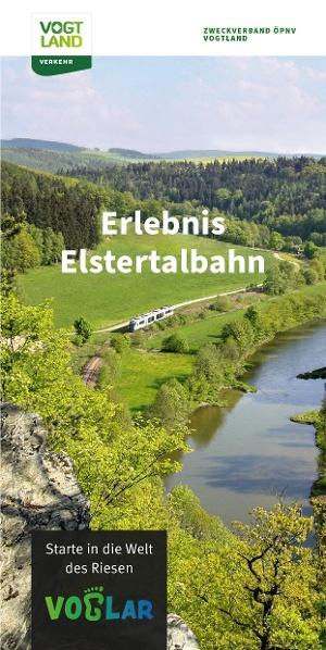 Titelbild Broschüre Erlebnis Elstertalbahn