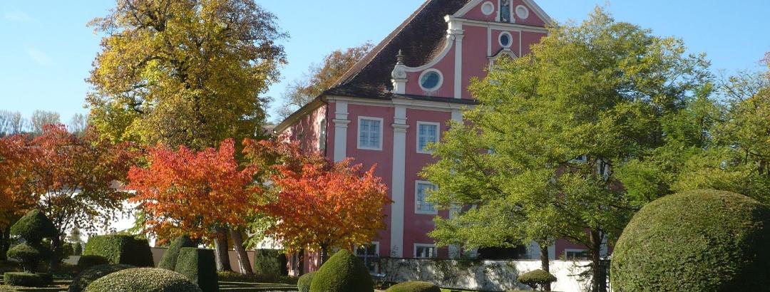 Kloster und Schloss Salem - Klostergarten im Herbst
