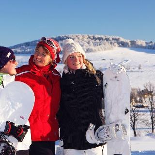 Winterfreuden am Seiffener Skilift