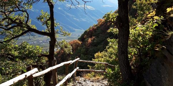 Da Parcines al sentiero panoramico Monte Sole