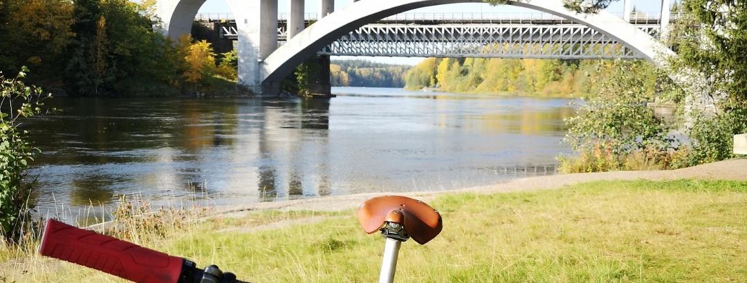 Koria bridge over Kymijoki River