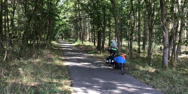Schleifenroute - Radweg von und nach Krakow am See