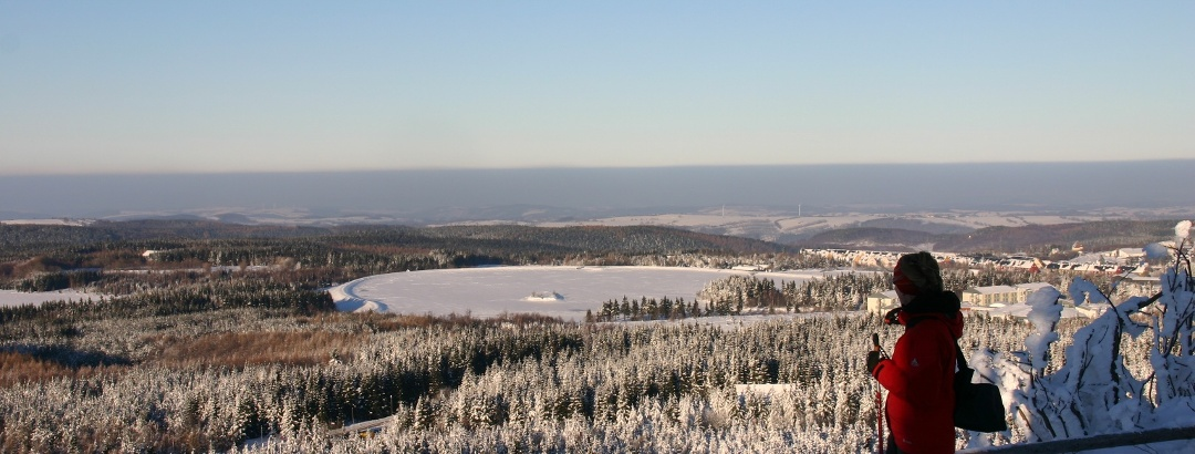 Winter in der Urlaubsregion Altenberg - Kahleberg