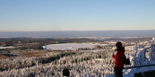 Winter in der Urlaubsregion Altenberg - Kahleberg