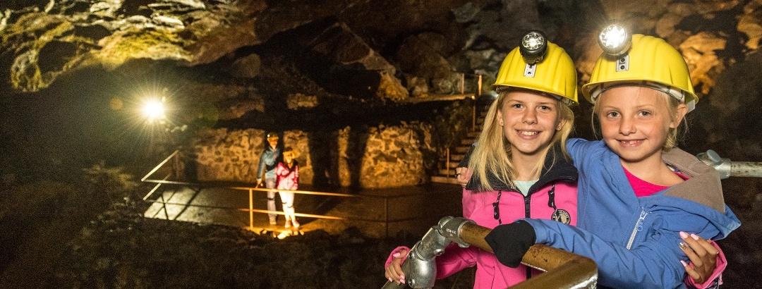 Kindererlebnis unter Tage im Kupferbergwerk Fischbach